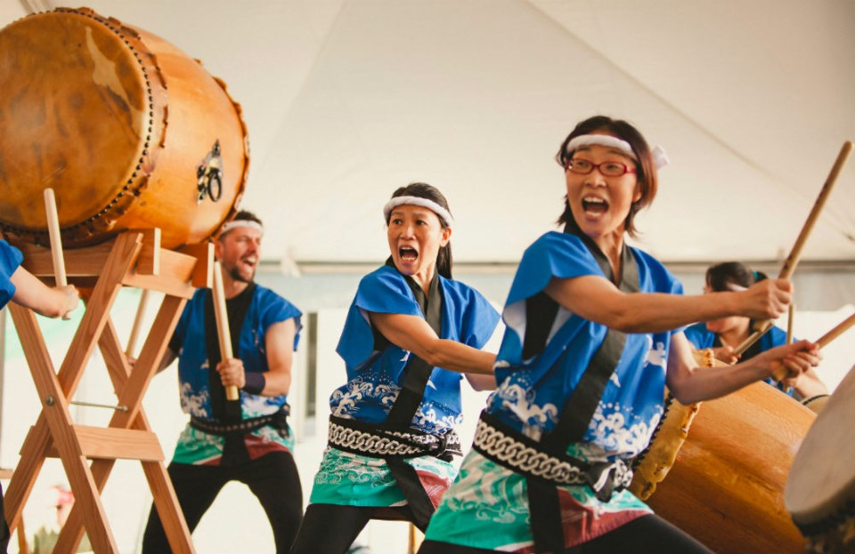 Katari Taiko at the 2014 Festival Photo:  by jeanie