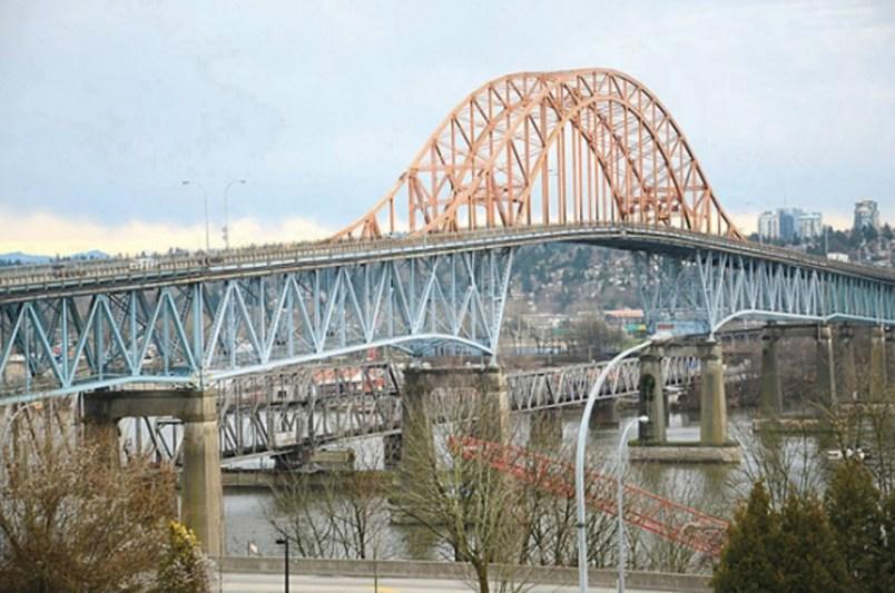 Pattullo Bridge. File photo/New Westminster Record