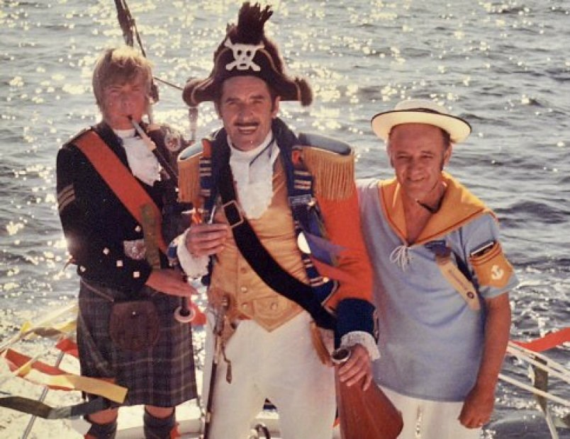 Former Nanaimo mayor Frank Ney was the race's biggest ambassador and was known to don a pirate suit not just for bathtub race festivities but throughout the year.