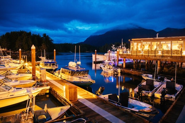 Photo by Jeremy Koreski/courtesy Tofino Resort & Marina