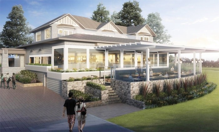An artist's rendering shows what the Beachhouse Restaurant on the West Vancouver waterfront would look like if a $5-million renovation goes ahead. Image Supplied