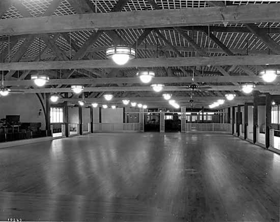 PNE dancehall, 1928 (Vancouver Public Library)