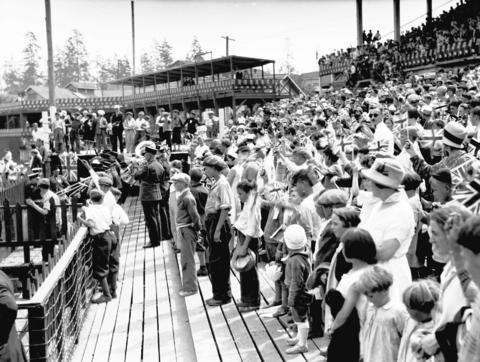 Opening of the PNE, 1928
