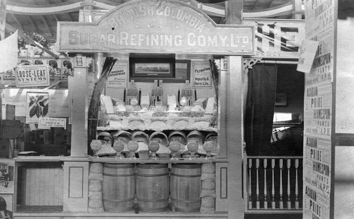 1911 display at the PNE (Vancouver Archives)