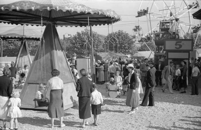 Kids' rides, 1936 (Vancouver Archives)