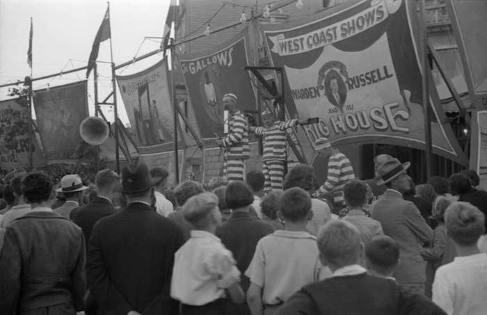 Sideshow, 1936 (Vancouver Archives)