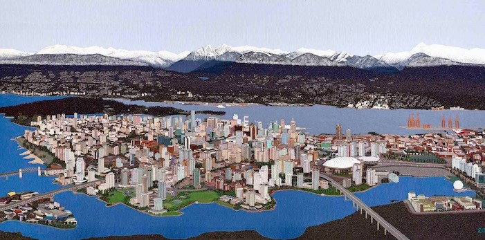 The Vancouver Tapestry by Sola Fiedler