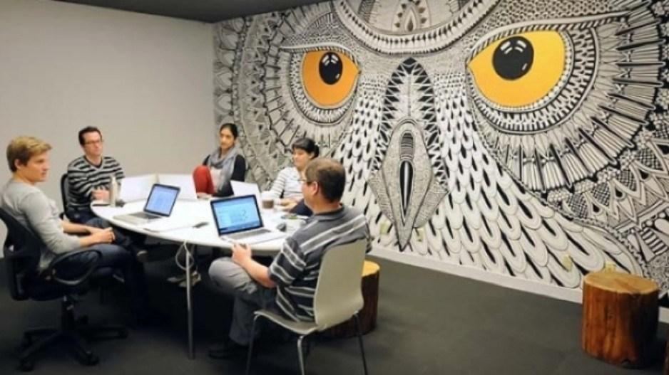 Hootsuite's offices (Photo submitted)