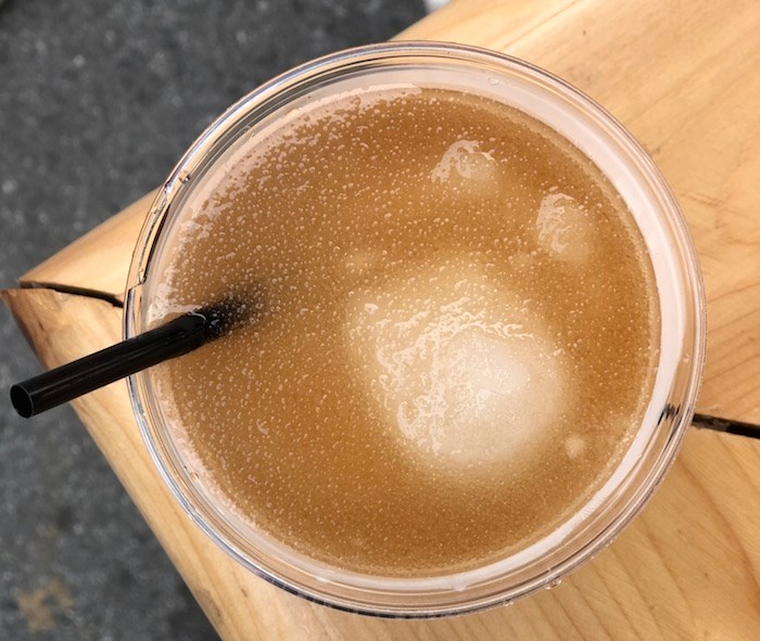 Dark and Stormy slush (Lindsay William-Ross/Vancouver Is Awesome)