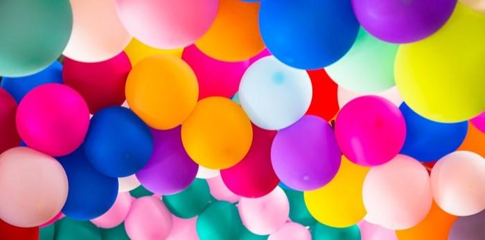 Latex balloons/Shutterstock