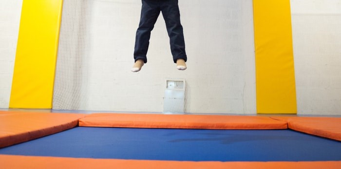 Trampoline jumping/Shutterstock