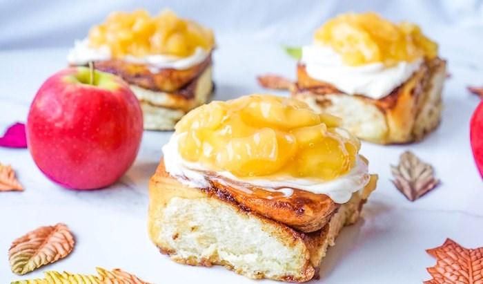 Apple Pie Cinnamon Buns.
