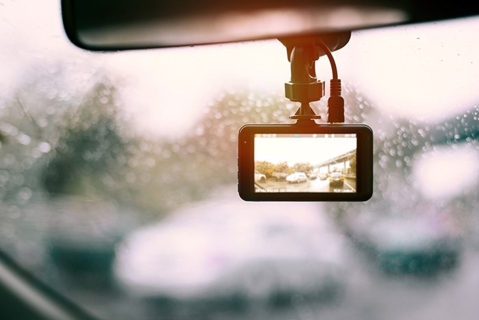 Dash cam. Photo Shutterstock