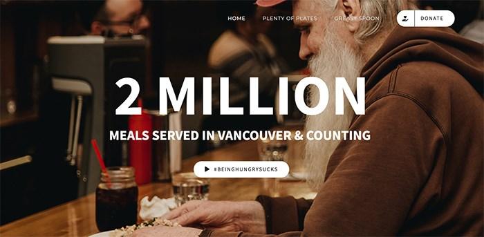 A Better Life Foundation's website. Screengrab