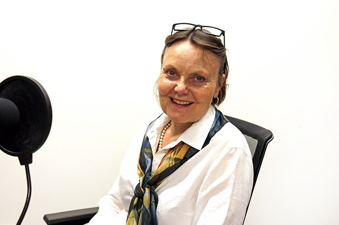 Martha Perkins is retiring from the Vancouver Courier. Photo Bob Kronbauer