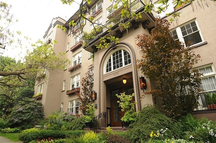 The historic Queen Charlotte building in the West End is part of Vancouver Heritage Foundation's upcoming West End Heritage Tour planned for Sept. 29. Photo Dan Toulgoet