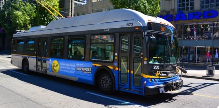 TransLink bus in Vancouver. meunierd / Shutterstock.com