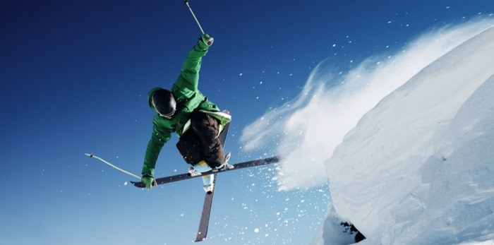 Skiing/Shutterstock