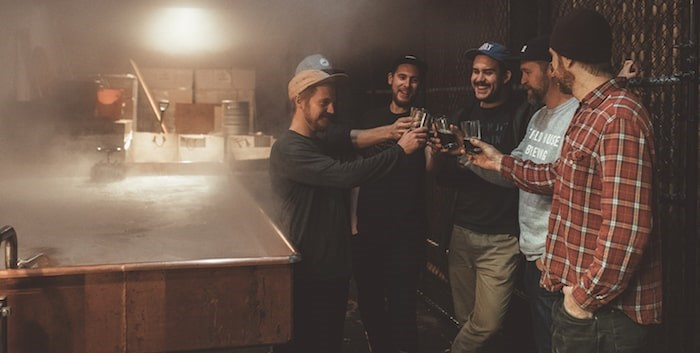 Abbotsford's Field House Brewing has released a number of wild fermented beers using a cool ship. (Photo by Sean Dalin)