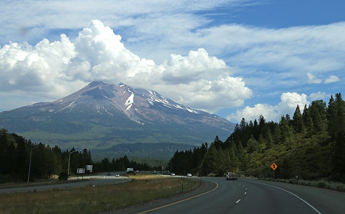 Mount Shasta in California. Photo Bob Kronbauer