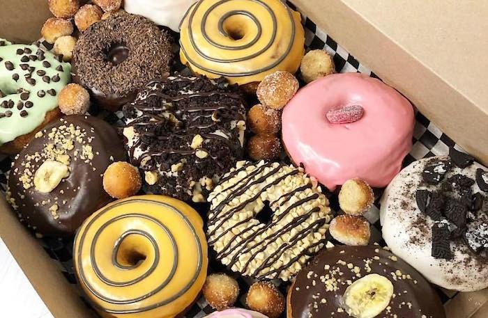 Vegan doughnuts from Dipped Doughnut Co. (