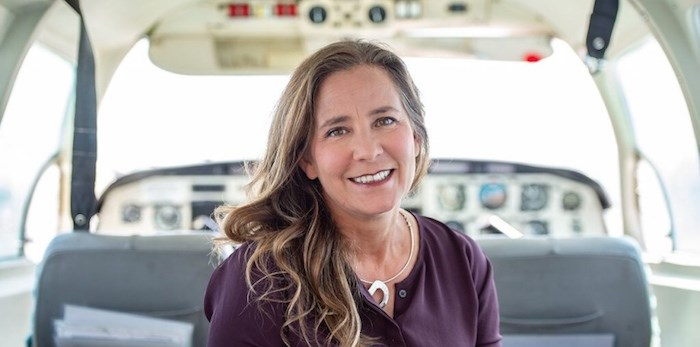 Teara Fraser, CEO of Iskwew Air. Photo courtesy Iskwew Air