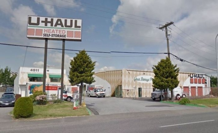 The U-Haul Moving and Storage site on Shell Road. (Google Maps)