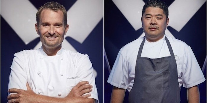 Bell, left, and Chen will compete against TV's Iron Chef Canada stars (Photo courtesy Corus Entertainment)