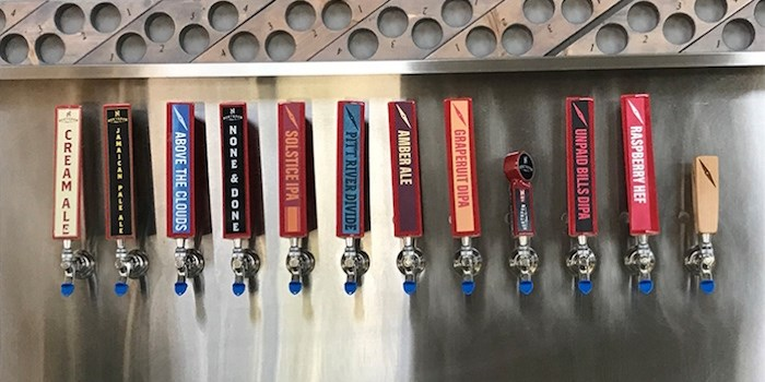 The taps at Northpaw, which will soon have Tin Shed as its neighbour in the Dominion Triangle.