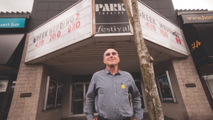 Leonard Schein operated the Festival Cinemas, which included the Park Theatre on Cambie Street when the Canada Line was built. Photo Chung Chow