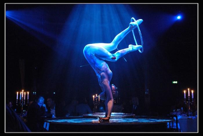 Bacio Rosso is described as Moulin Rouge meets Caberet. Photo Bacio Rosso