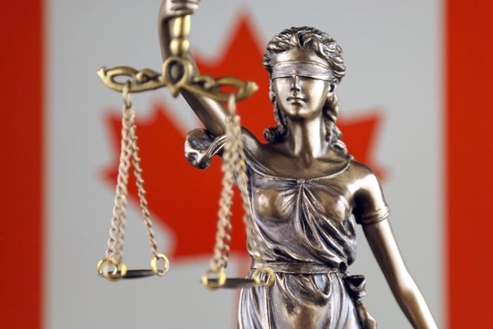 Judicial system in Canada/Shutterstock