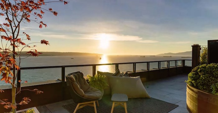 Imagine being able to watch the sunset from these loungers each evening. Listing agents: Steve Mitchell, Clive Benjafield, Paul Boenisch