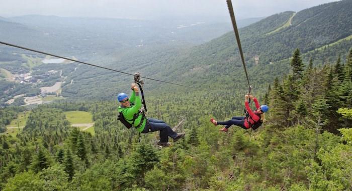 Courtesy of Terra-Nova LLC of Utah, ZipTour at Stowe Mountain Resort, Vermont (Mount Washington Alpine Resort)