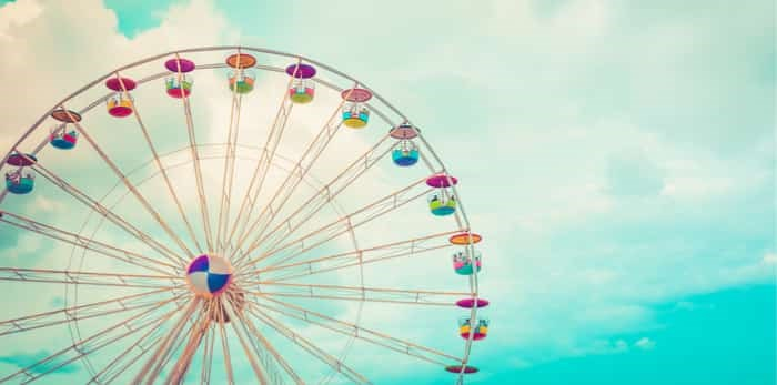 Photo: ferris wheel / shutterstock