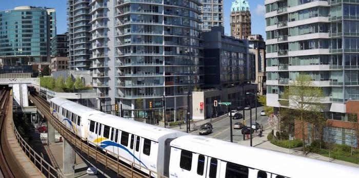SkyTrain in Vancouver/Shutterstock
