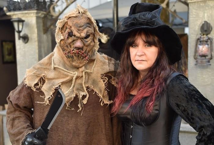 Shawn and Trina Rundgren celebrate their wedding anniversary on Halloween. Photo by Dan Toulgoet