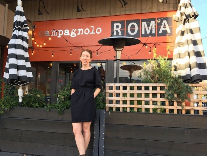 """Campagnolo Roma general manager Sarah Jensen: """"A neighbourhood restaurant like this is about community on a certain level, and I will really miss that."""" Photo Grant Lawrence"""