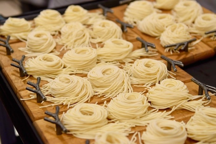 The Dolar Shop serves made-in-house noodles with its hot pot dishes. Photo: Megan Devlin