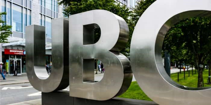 UBC says they have 31 students who are studying at four universities in Hong Kong. Now 20 have left the area. Photo: UBC campus/Shutterstock