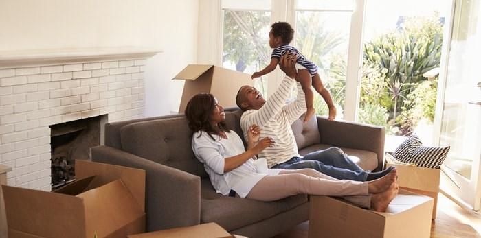 Family in new home/Shutterstock