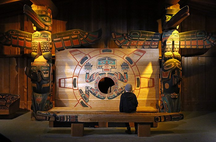 Spend some time in the expansive First Peoples gallery. Photo Bob Kronbauer