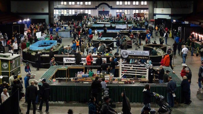 The 37th annual Vancouver Train Expo will have over 100 scale miles of railway all in one building. Photo: