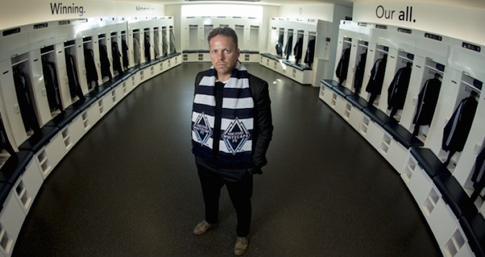 Marc Dos Santos has been named the new coach of the Vancouver Whitecaps (Bob Frid/Vancouver Whitecaps FC)