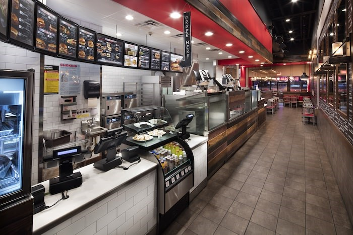 The new Arby's at Tsawwassen Commons will follow the design of this existing location (Photo courtesy Arby's)