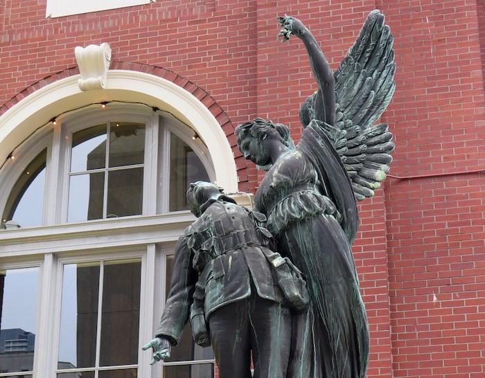 Winged Victory (Photo courtesy Vancouver Heritage Foundation)
