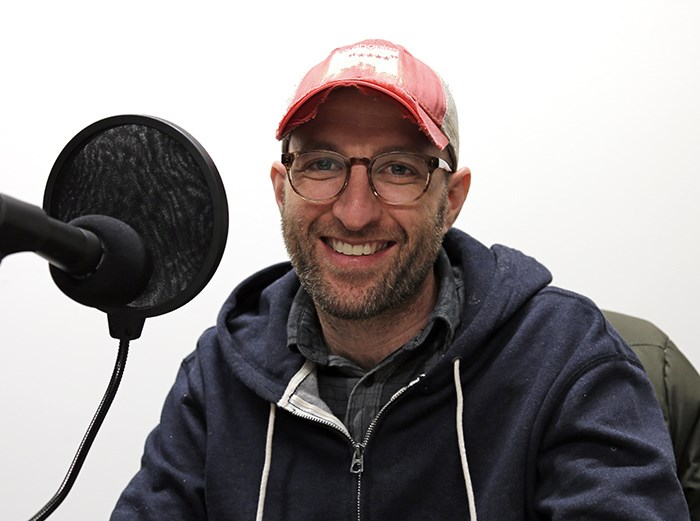 The host and co-producer of the podcast 'Escaping NXIVM', Josh Bloch. Photo Bob Kronbauer