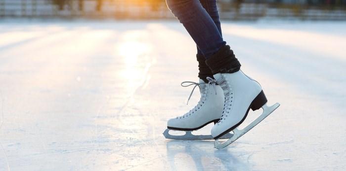 Outdoor ice skating/Shutterstock