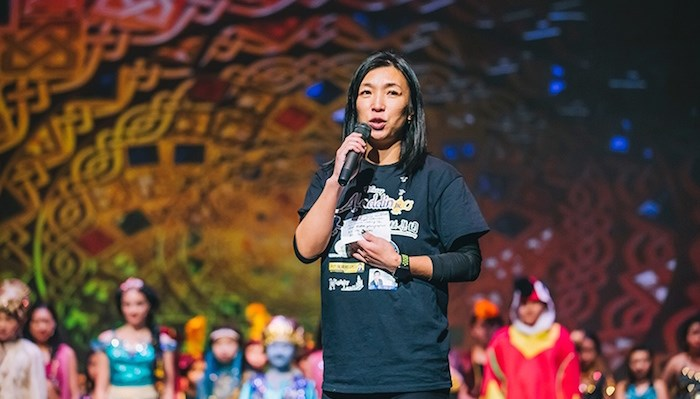 Lily Yuan founded the Children's Theatre of Richmond Association to give young performers more chances to shine. Photo: Children's Theatre of Richmond Association