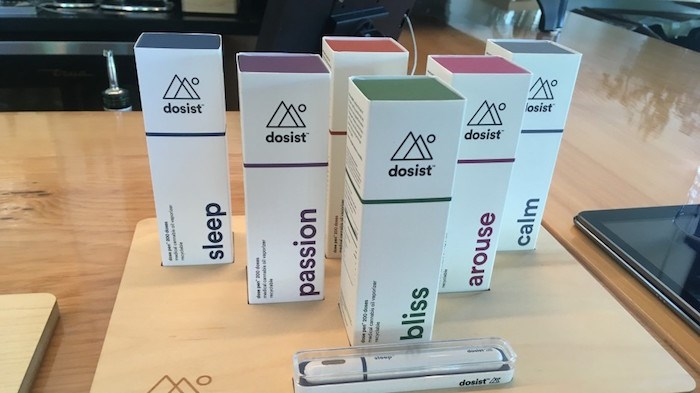 Dosist, which has a Canadian headquarters in Vancouver, sells millions of dollars worth of its vape-pen products in California. Photo by Glen Korstrom